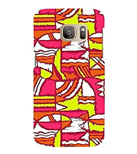 EPICCASE Colurful madness Mobile Back Case Cover For Samsung Galaxy S7 Edge (Designer Case)