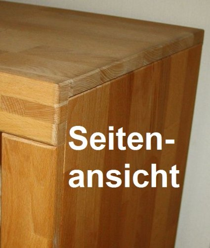 Highboard Kernbuche massiv geölt - 4