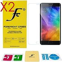 Forefront Cases® [HD CLARIDAD] Protector de Pantalla de Cristal Vidrio Templado del protector de película de la cubierta para Xiaomi Mi Note 2 [ULTRA THIN sólo 0,3mm] - PAQUETE DE 2