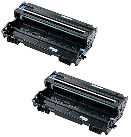 2x Trommeleinheit kompatibel für Brother DR3100 DCP-8060, DCP-8065DN, HL-5240, HL-5240L, HL-5250, HL-5250D, HL-5250DN, HL-5270DN, HL-5270DN2LT, HL-5280DW, MFC-8460, MFC-8460N, MFC-8860DN, MFC-8870DW