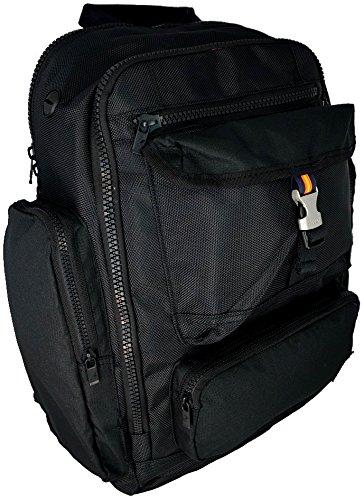 Zaino Borsa Uomo Donna K-Way Bag Backpack Men Woman K- Office K1N010-Nero