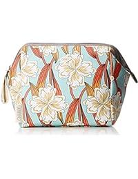 Ruffles Geometrical Washbag Mhz 3, Womens Bag Organiser, Pink (Rose), 12x22x22 cm (B x H T) Oilily