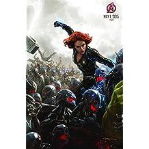 Avengers: Age Of Ultron Black Widow Póster de la película (2015), papel, A2