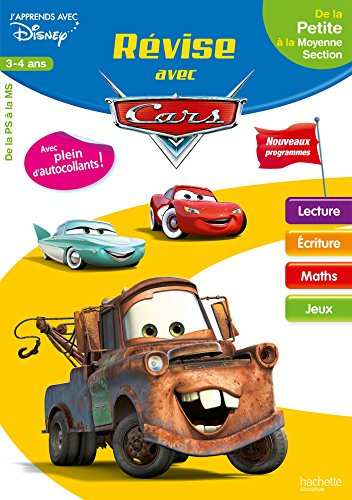 Révise avec Cars De la PS à la MS