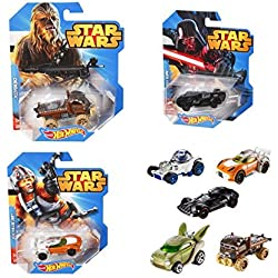 Vehiculo Deluxe Star Wars Hot Wheels surtido