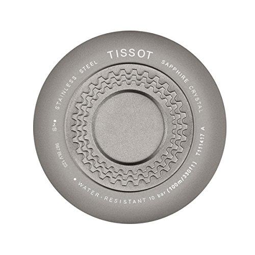 TISSOT Orologio Analogico Quarzo Uomo con Cinturino in Silicone T1114173744103