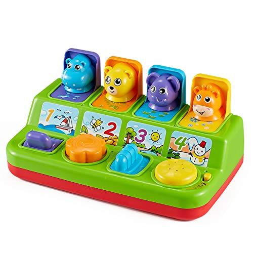 Think Gizmos Aktivitätsspielzeug für Kleinkinder - Interaktives Lernspielzeug für Junge Kinder... (Pop-up-Tiere)