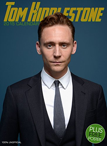 Tom Hiddleston - Loki from Thor & The Avengers 2015 Calendar with Free Pullout Poster