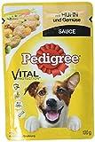 Pedigree Vital Protection/Hochwertiges Hundefutter mit Huhn und Gemüse in Sauce / 24 Beutel (24 x 100 g)