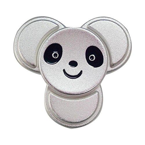 (MULGORE Fidget Spinner Metall Tri Hand Spinner Toys Spielzeug Hot Explosion 2017 High Speed 1-5 Min Spins Panda Style Best Neuheit Spinning Top für Made mit Premium Qualität)