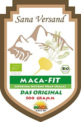 Bio Maca Pulver 500g Original aus Peru, reines Maca Premium Qualität