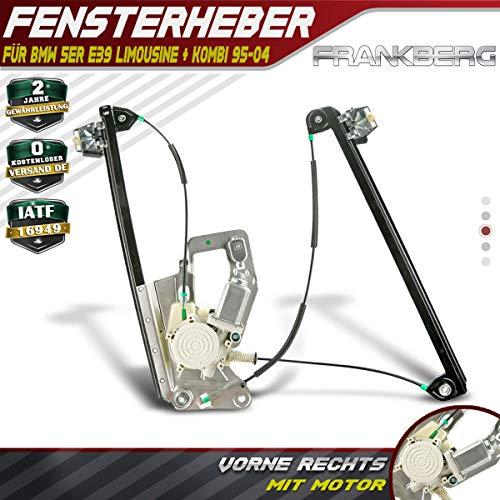 Fensterheber Mit Motor Vorne Rechts für 5er E39 1995-2004 51338252394