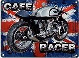 CAFÉ RACER Metall blechschild nostalgie 200mm X 150mm