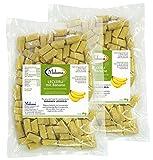 Makana Banane Leckerlie Snack für Pferde, 2 x 1000 g Beutel (2 x 1 kg)