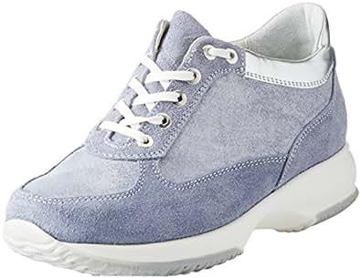 BATA 523306, Sneaker a Collo Alto Donna, Blu, 35 EU