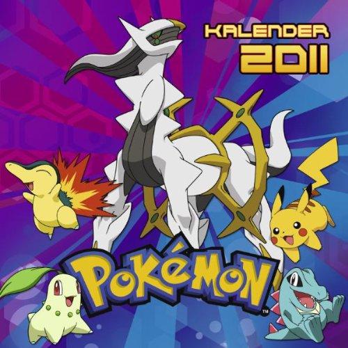 Pokemon Wandkalender 2011