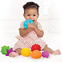 A to Z 61017 My First Baby Multi Textured Sensory Soft Balls, Colour - ukpricecomparsion.eu