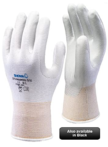 SHOWA 370 Assembly Grip Gloves - Nitrile Palm - 5/XS