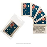 5er Australien Tattoo Fahne Fan Set - WM Fanartikel - Australia Flag (5)
