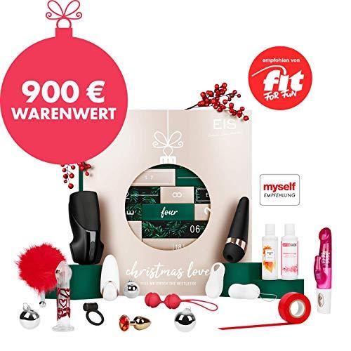 EIS Premium erotischer Adventskalender für Paare 2019, 24 sinnliche Sex Geschenke inkl. Satisfyer, Erotik Advent Kalender Warenwert 900 €