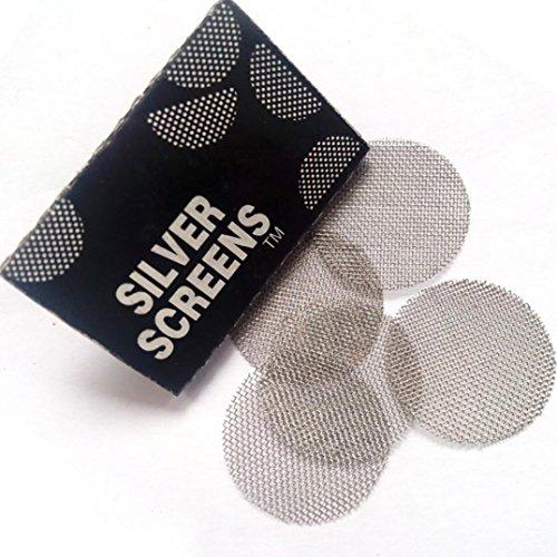 TAOtTAO 200 Stücke Multifunktionale Shisha Wasserpfeife Metallfilter Rauchrohre Bildschirm Gaze