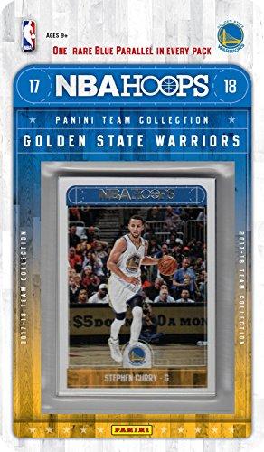Golden State Warriors 2017 2018 Band-Basketball-Fabrik versiegelte 10-Karte NBA Lizenzierte Team-Set mit Stephen Curry Kevin Durant Plus