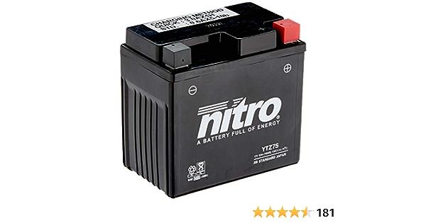 Nitro Ytz7s N Batteries Black Price Includes Eur 7 50 Deposit Auto