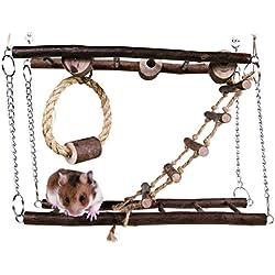 Trixie pequeña Mascota Juguete Suspensión Puente
