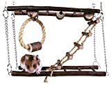 Trixie Pont Suspension Jouet Petit Animal