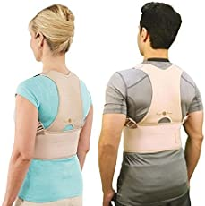 Allium Royal Posture Back Support M Size And Multi Color