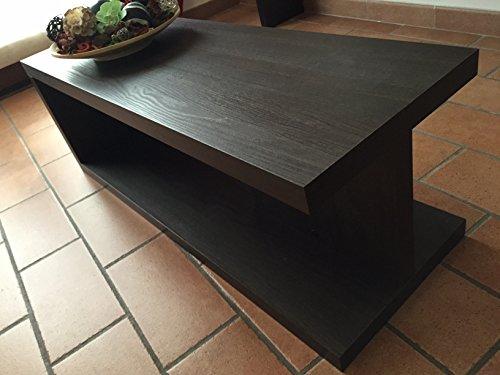 ve.ca-italy tavolino basso salotto moderno in legno wenge' - Tavolini Soggiorno Wenge
