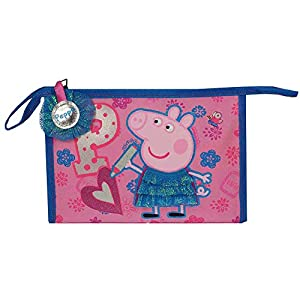 Portatodo neceser Peppa Pig Colourful