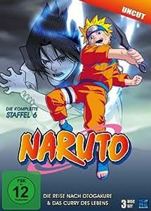 Naruto - Staffel 6: Die Reise nach Otogakure & Das Curry des Lebens (Episoden 136-157, uncut) [3 DVDs]