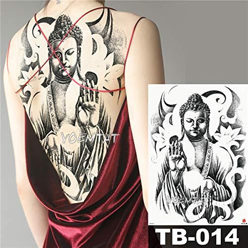 Steel Kostüm Red 2 - tzxdbh 2 Stücke-Blume Tattoo Aufkleber Damen Brust Bauch Kostüm Studio Rose Pfirsich Pfingstrose Tattoo Aufkleber 2 Stücke-