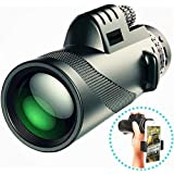 FIDELITY 40X60 Outdoor Portable Monocular Telescope for Outdoor Travel,Camping,Sighting