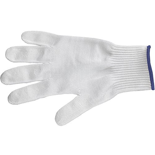 Victorinox Unisex Schutzhandschuh Soft Einzeln, 0,05 mm Brinix, A8C, Rostfreier Stahl, Größe L (Large)