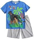 Disney Das Dschungelbuch Jungen Shorty-Pyjama - grau - 128