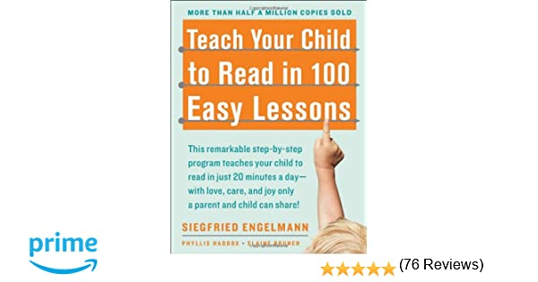 Teach Your Child To Read In 100 Easy Lessons: Amazon.De: Phyllis