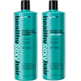 Sexy Hair Healthy Sexy Hair Color Safe Sulfate Free Soy Moisturizing Shampoo & Conditioner, 33.8 Oz...