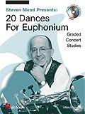 Allen Vizzutti: Stephen Mead Presents Twenty Dances For Euphonium (Bass Clef) - Partitions, CD