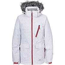 Trespass Daru - Chaqueta de esquí para mujer, color blanco, talla L