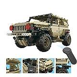 Remote Toys,1:18 DIY Assemble RC Cars Alloy 2.4G Radio Control Brick Trucks Toys