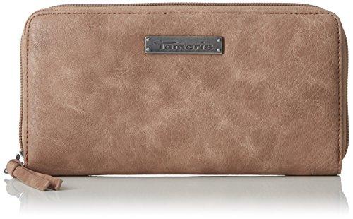 Tamaris Damen Patty Big Zip Around Wallet Geldbörse, Pink (Mauve), 2x10x19,5 cm (Wallet Around Kleine Zip)