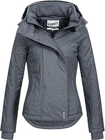 SUBLEVEL Damen D5174X46550D Sportliche Damen Übergangs Jacke Dark Blue M
