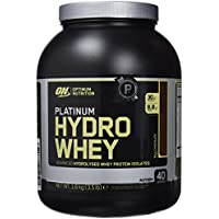 "Optimum Nutrition Suplemento Dietético en Polvo ""Platinum HydroWhey Proteína"", Sabor Chocolate - 1600 g"