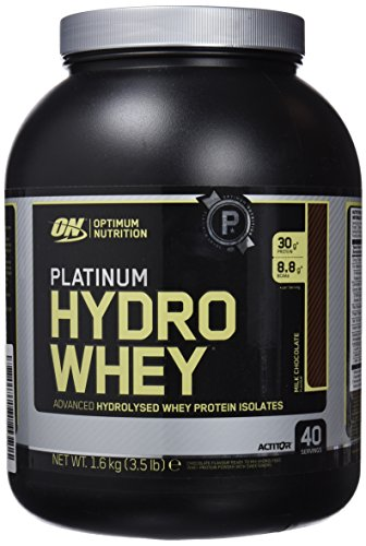Optimum Nutrition Platinum HydroWhey Proteína, Chocolate - 1600 g
