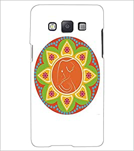 SAMSUNG GALAXY A5 RANGOLI Designer Back Cover Case By PRINTSWAG