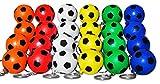 KAIMENG 24 Palloncini portachiavi con pallone da calcio multicolore per bambini Bomboniere e premi Carnevale scolastico