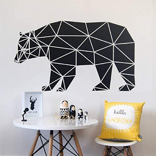 lyclff Abnehmbare Art-Deco-Wandbild abstrakte Wohnkultur Wohnzimmer Tier Aufkleber