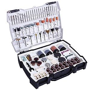 Set di Accessori Multiuso, Tacklife ARTO2C Accessori per Utensili Rotanti, 361pcs 3.2mm Diametro Shanks Utensili… 51meeR7jE2L. SS300